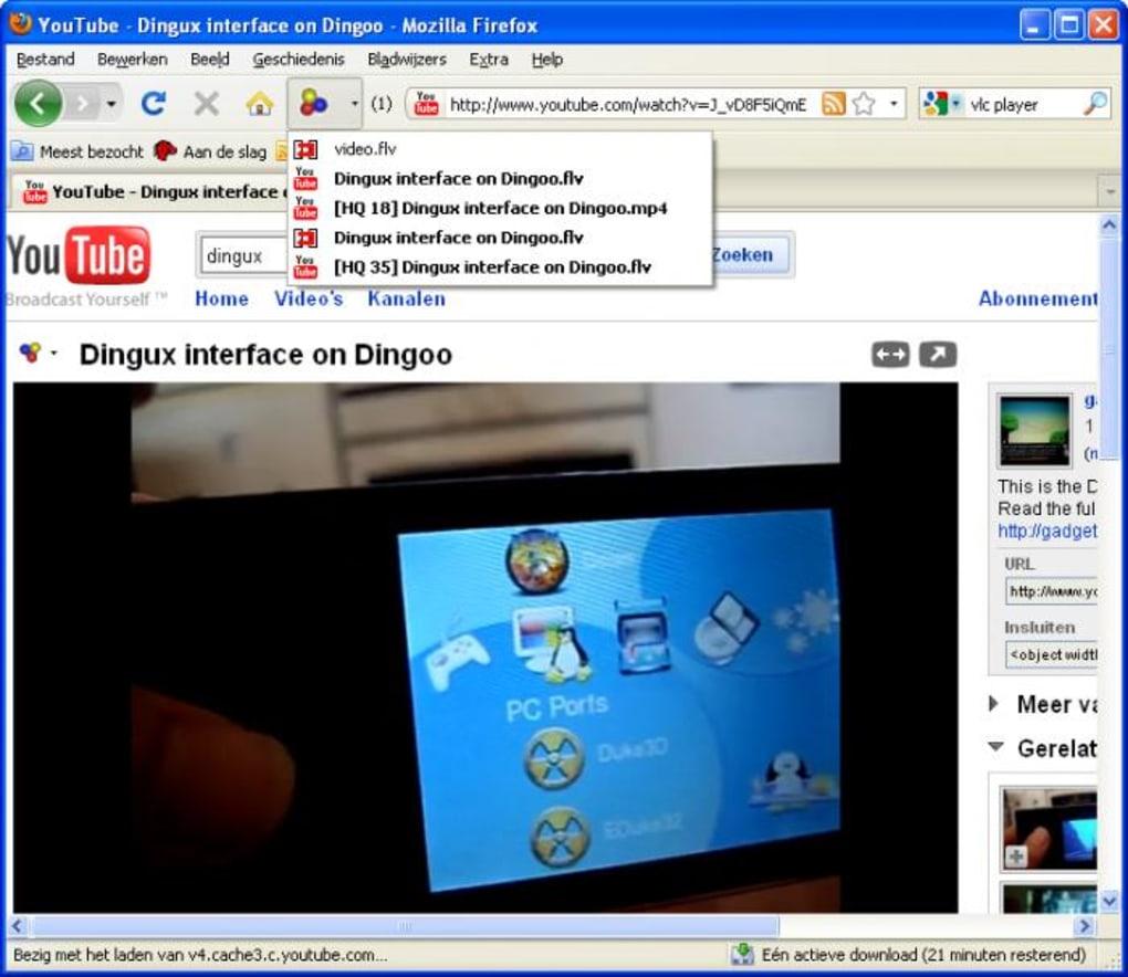 logiciel downloadhelper gratuit firefox