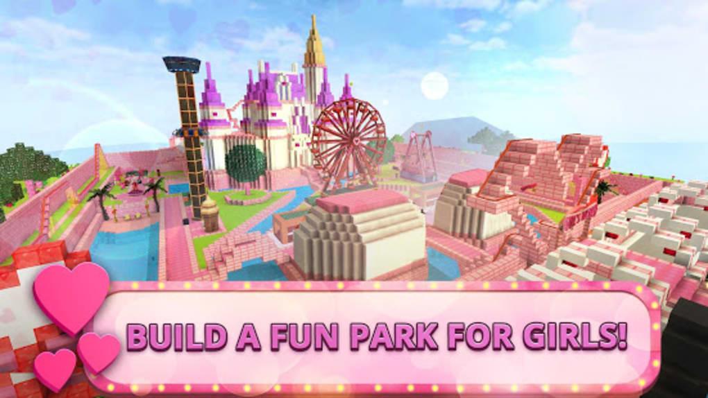 Girls Theme Park Craft Water Slide Fun Park Games