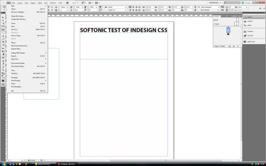 descargar gratis adobe indesign cs4 portable en español