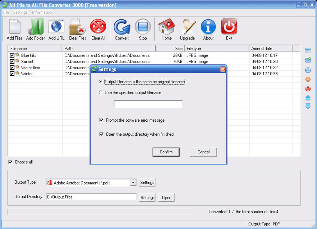 pdf to any file converter free download full version