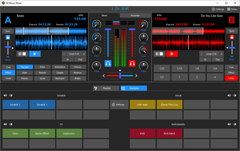dj equalizer for pc free download