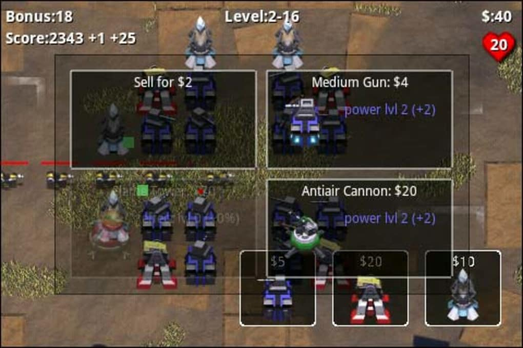 Robo Defense for Android - Download