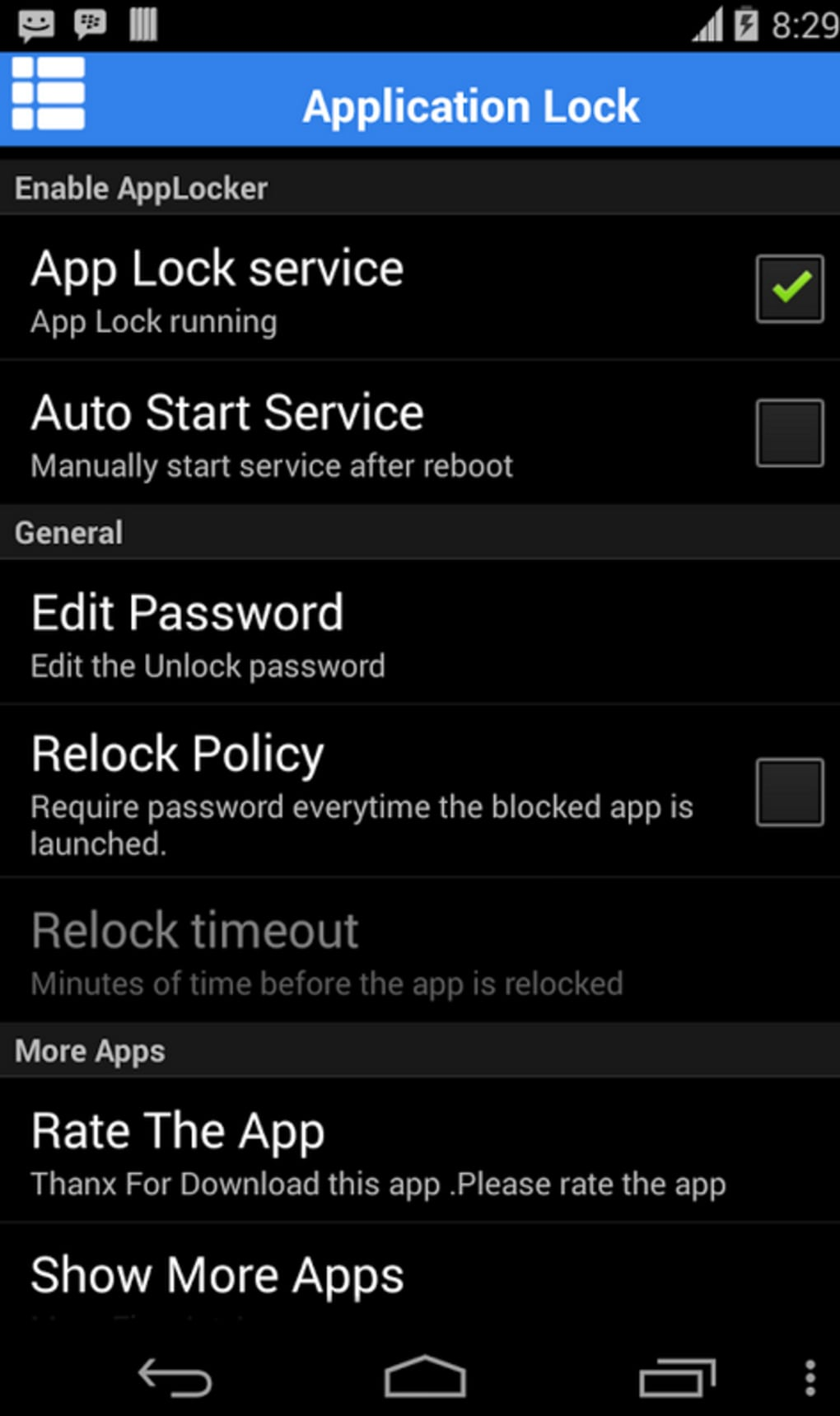 app lock download