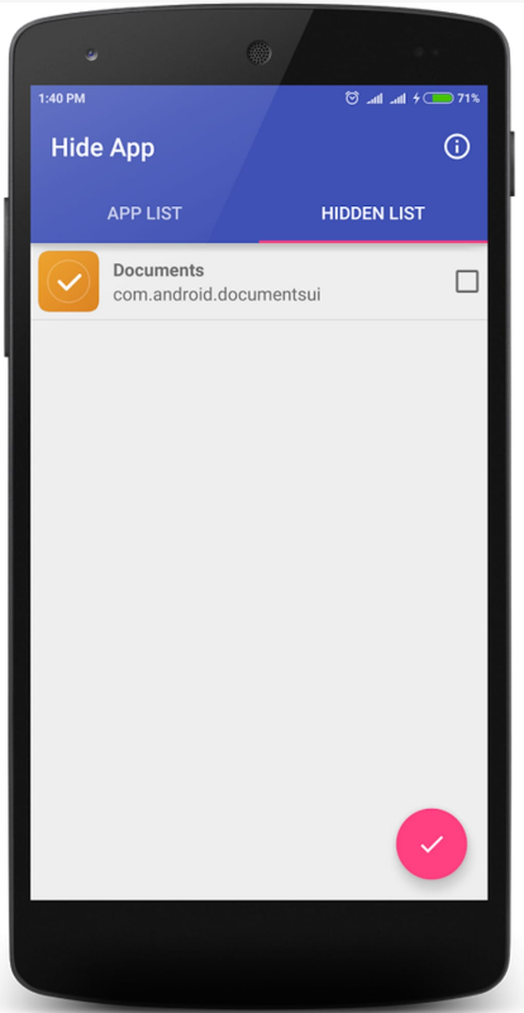 Hide Application for Android - Download