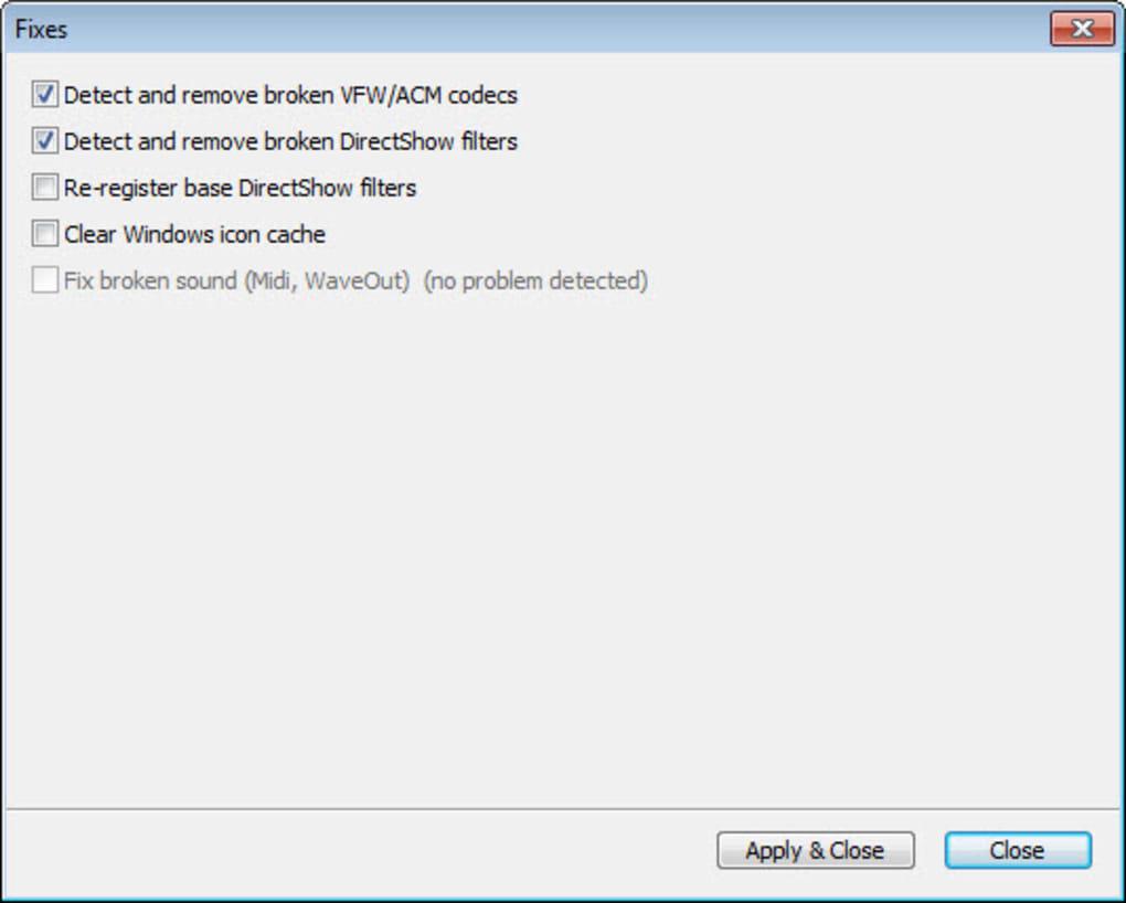 K-Lite Codec Pack - Download