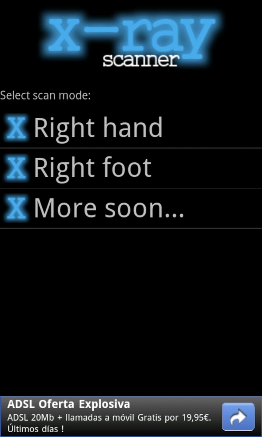 scanner deshabillant gratuit pour android