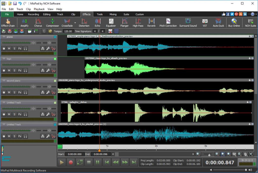 mixpad free download full version