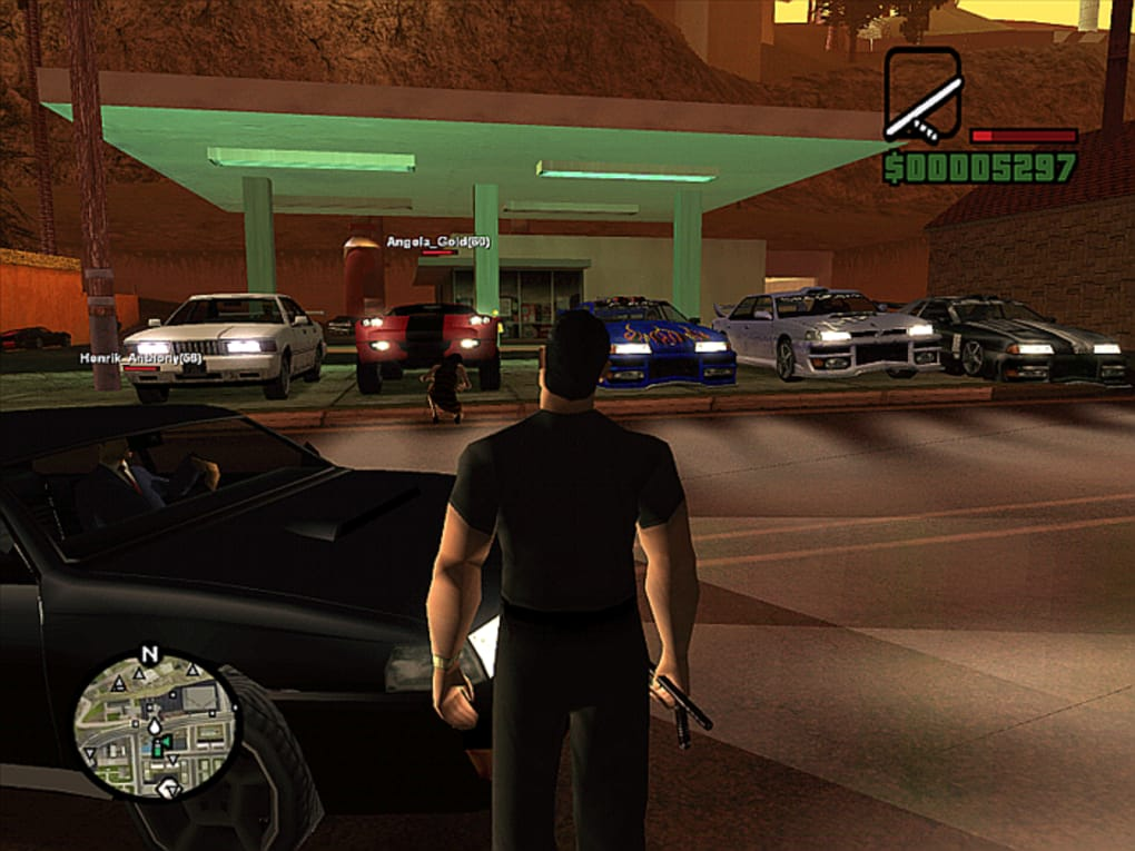 San Andreas Multiplayer Descargar