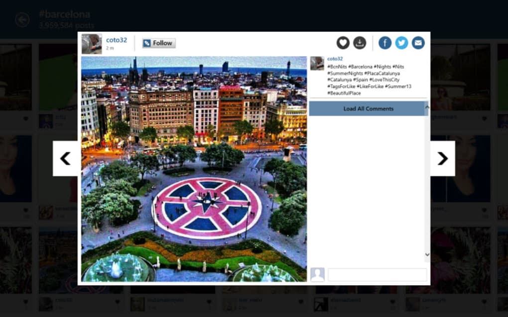 InstaPic for Windows 10 (Windows) - Download