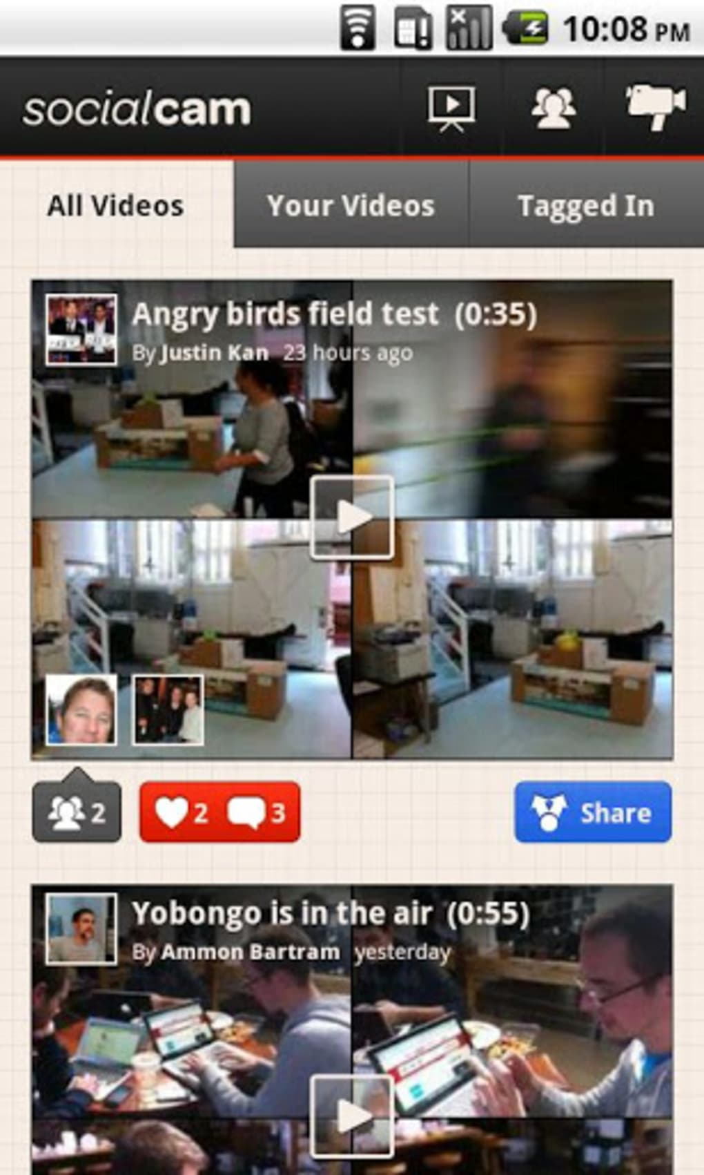 Socialcam for Android - Download