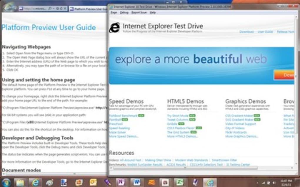 free download explorer 10 for windows 7