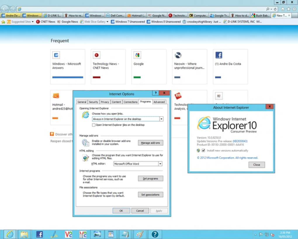 Internet Explorer - Download