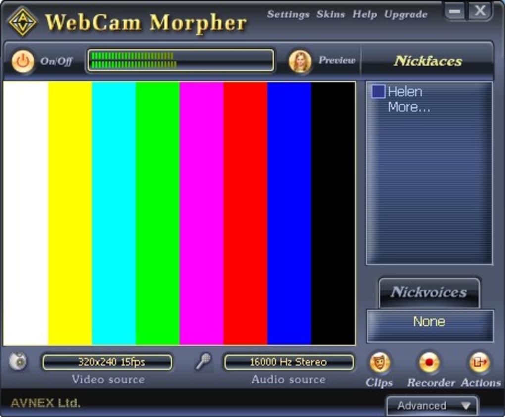 cam morpher gratuit