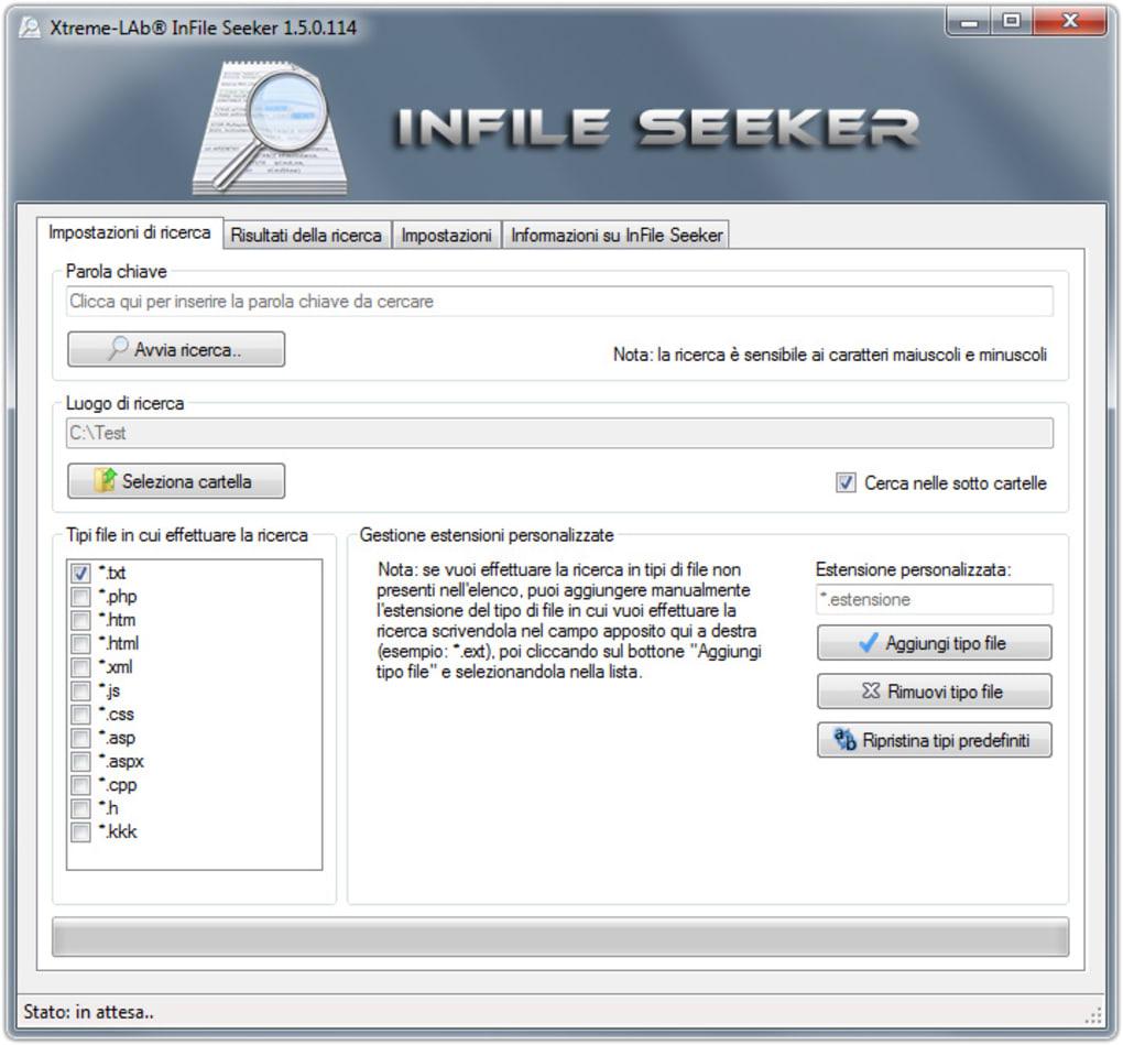 InFile Seeker - Download