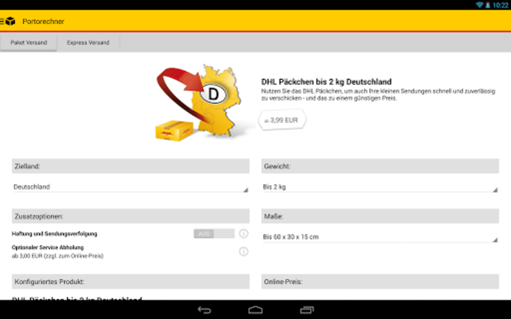 Dhl Paket Für Android Download