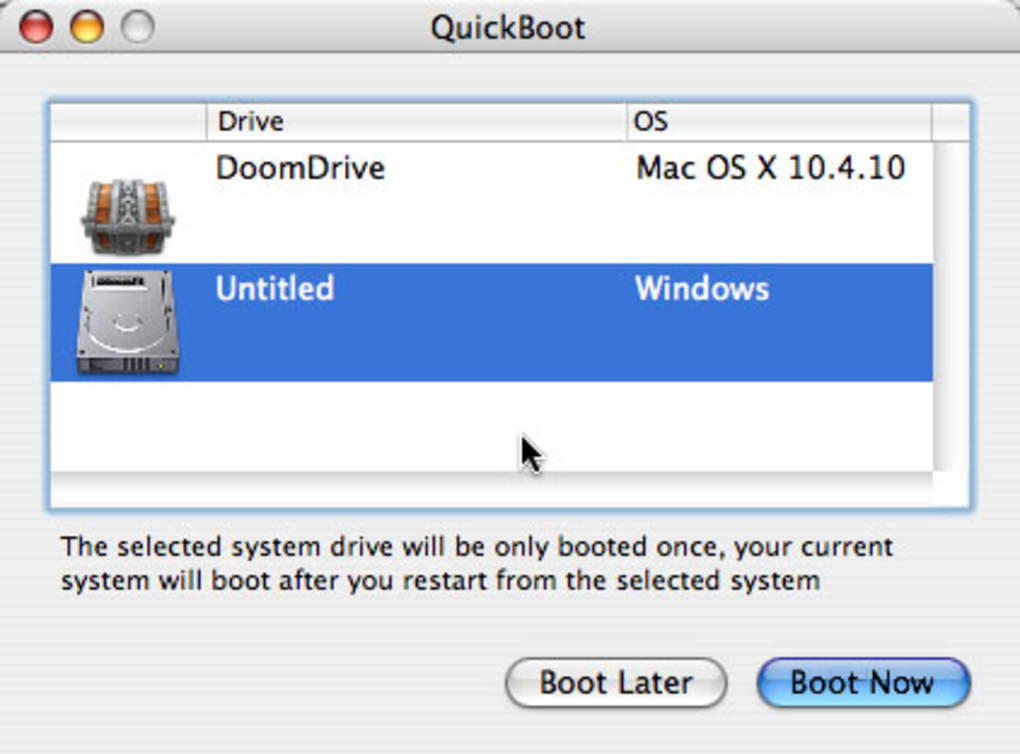 QuickBoot for Mac - Download