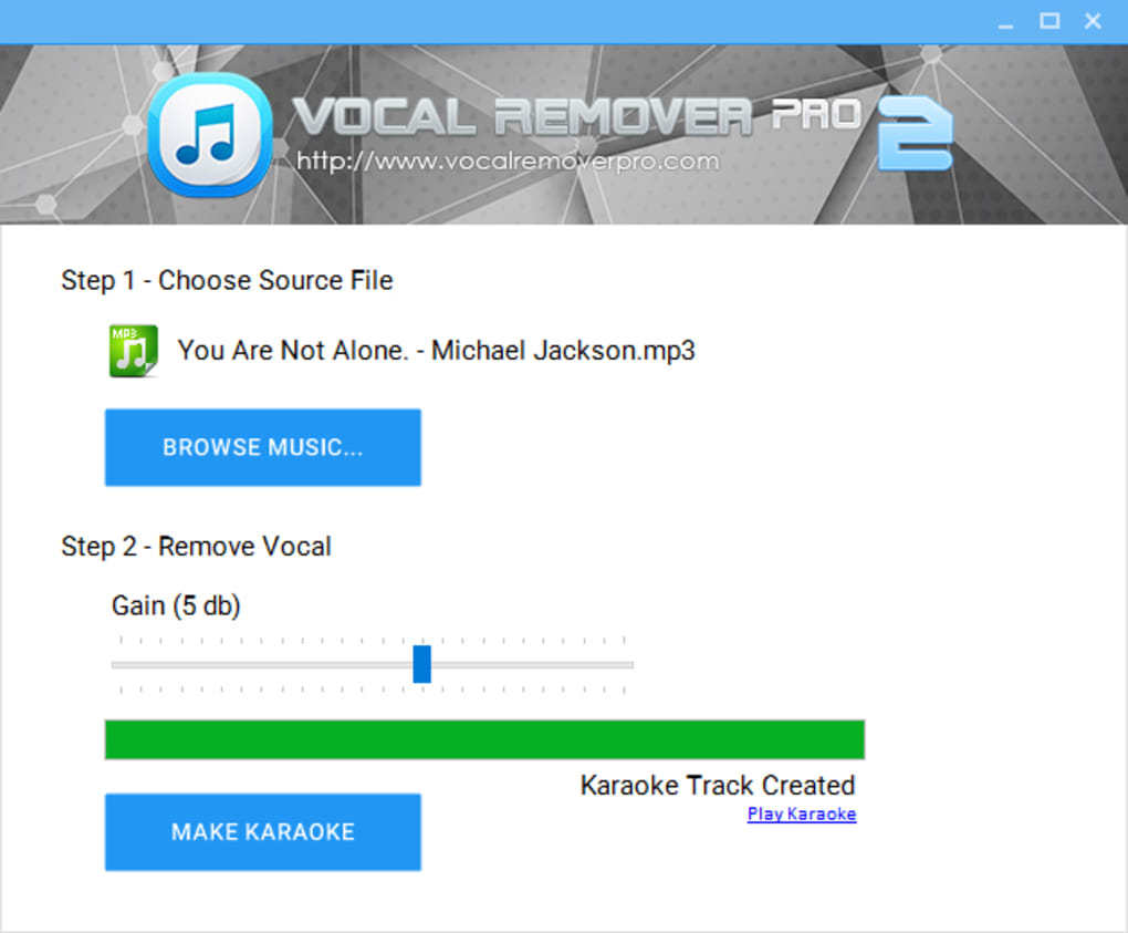 Vocal Remover Pro - Download