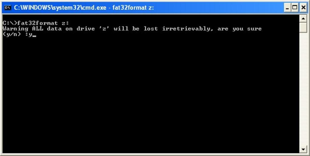 fat32format gratis
