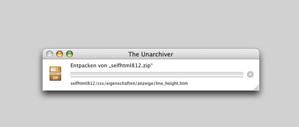 The Unarchiver für Mac - Download