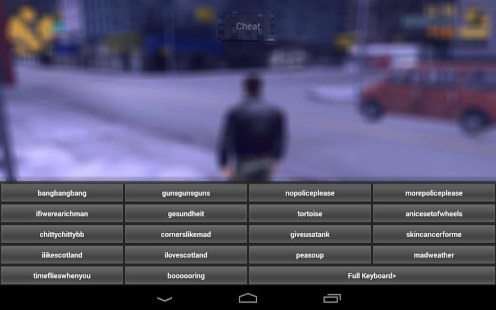JCheater: GTA III Edition for Android - Download