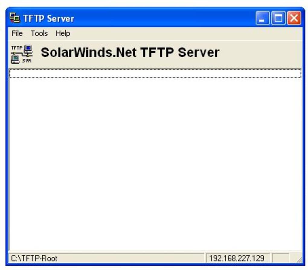 SolarWinds TFTP Server - Download