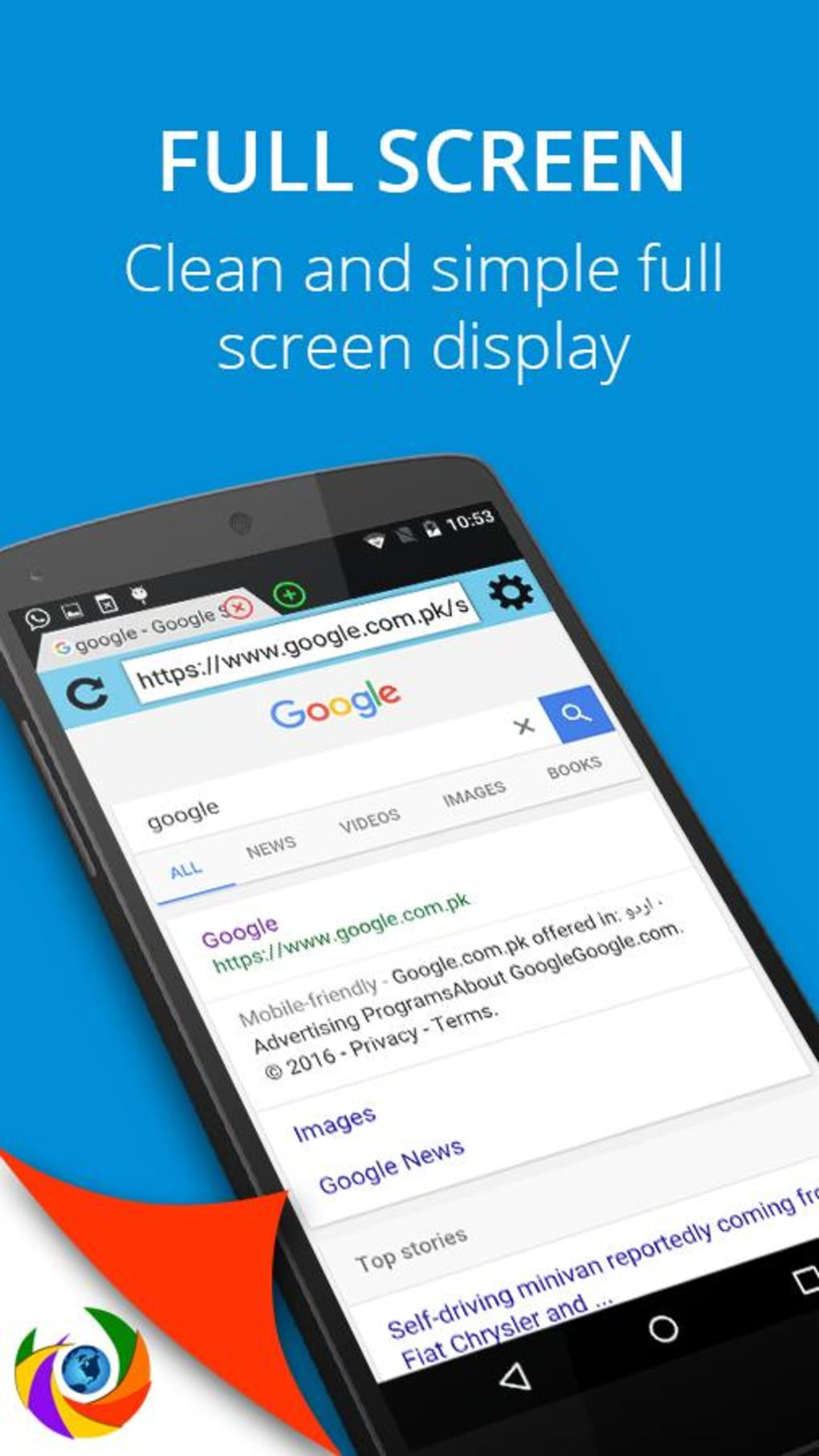 Orbit Browser Safe & Fast for Android - Download
