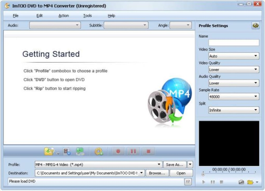 ImTOO DVD to MP4 Converter - Download
