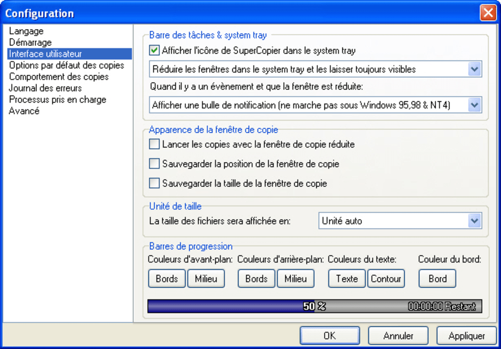 supercopier2 pour windows 7