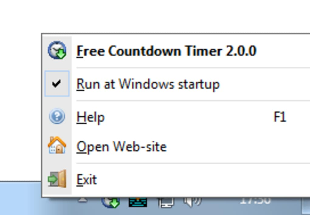 Free Countdown Timer Portable - Download