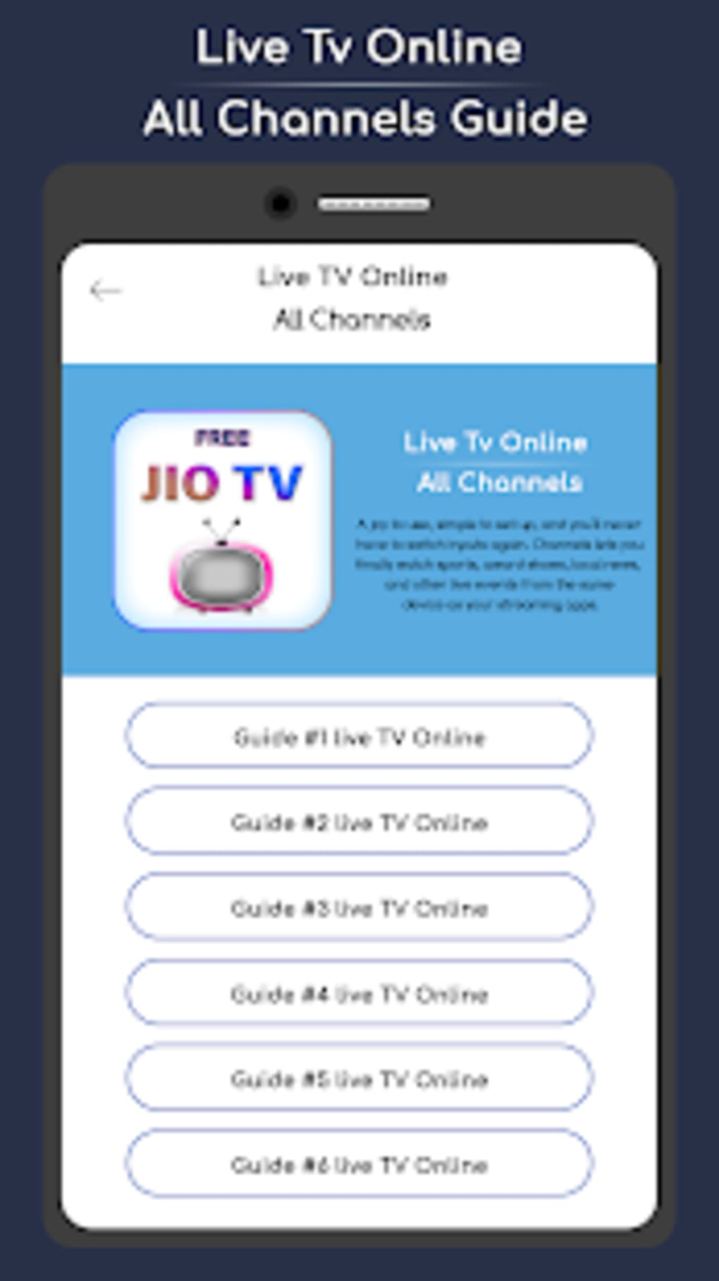 Free Jio TV HD Guide 2019 for Android - Download