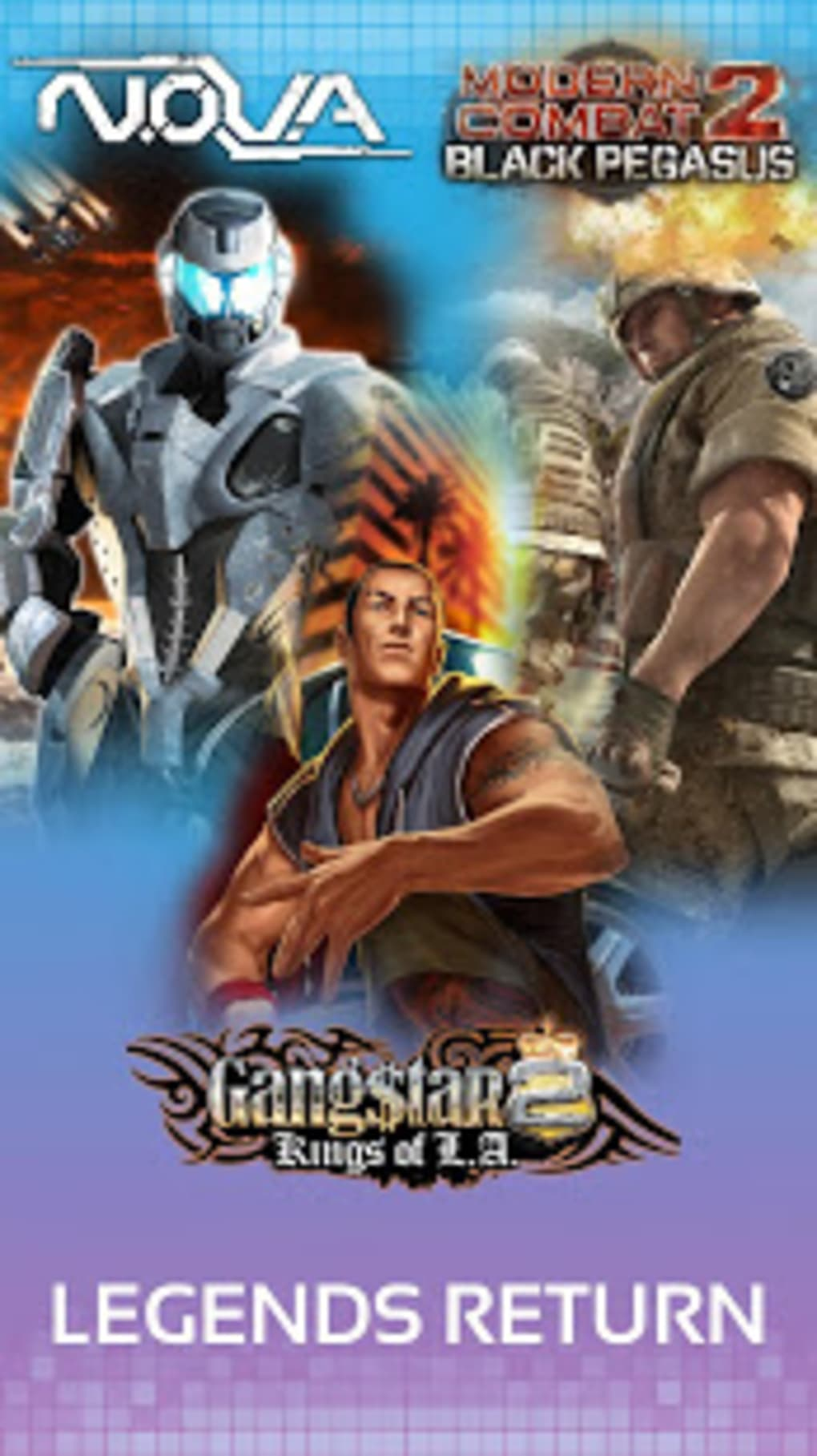 Gameloft Classics: Prime Games Collection for Android - Download