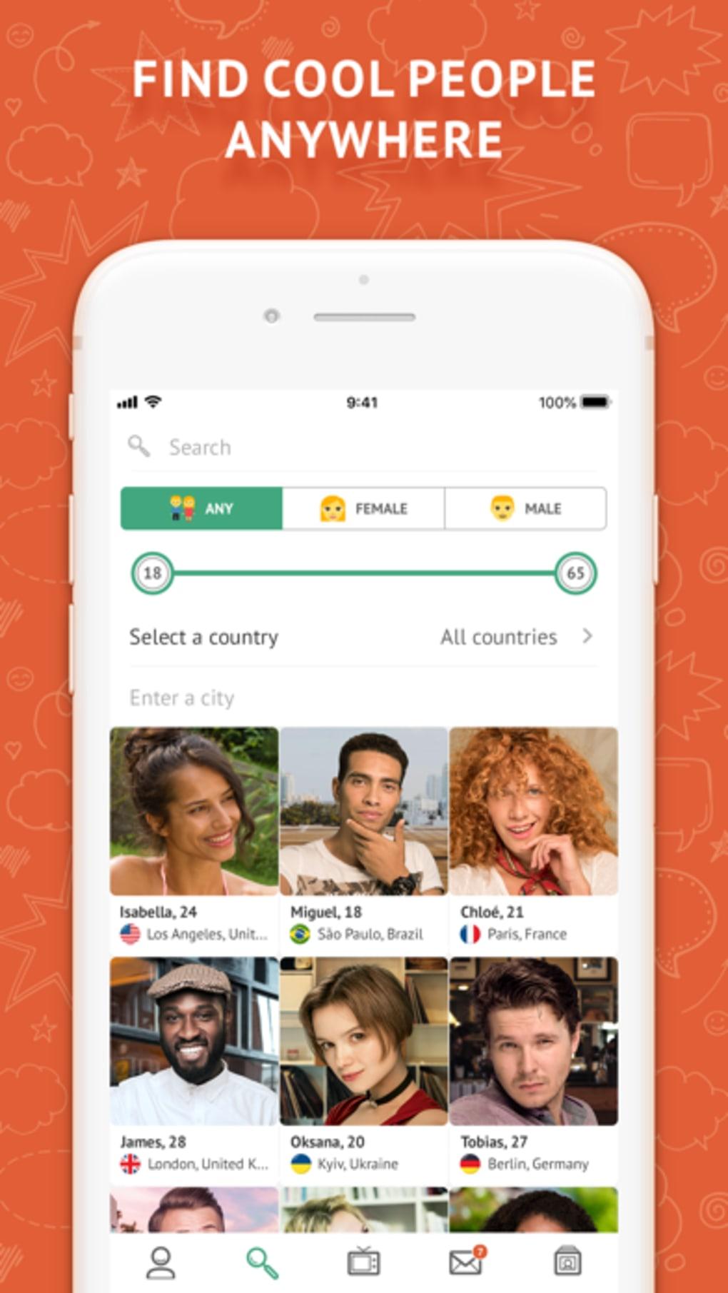 iPhone için OmeTV - Video Chat Alternative - İndir