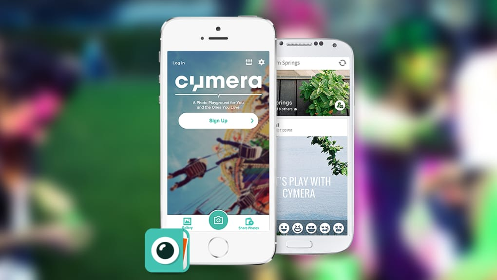 CYMERA POUR ANDROID
