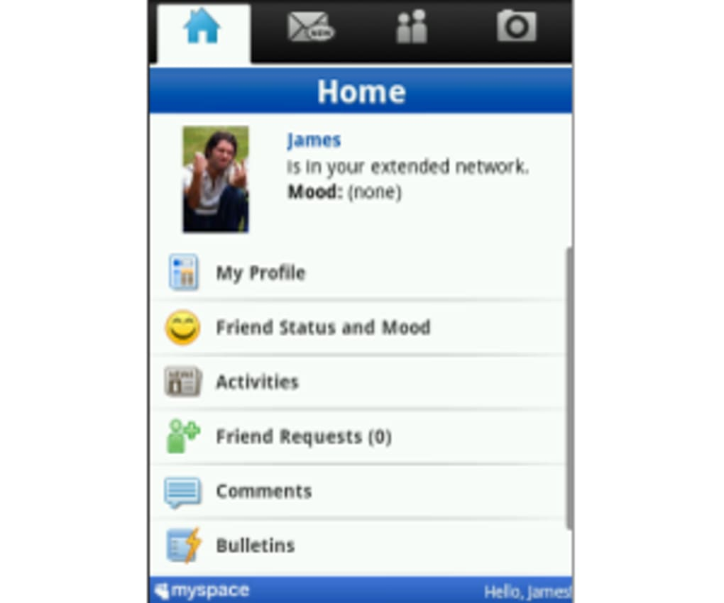 MySpace Mobile for Android - Download