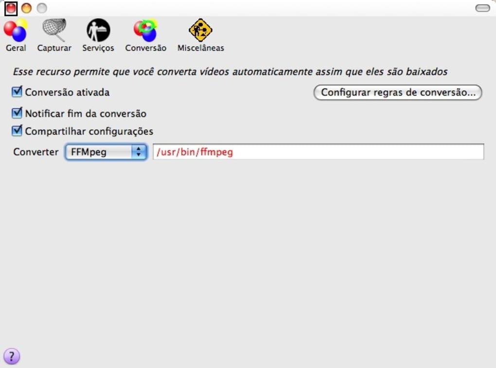 Download helper ffmpeg