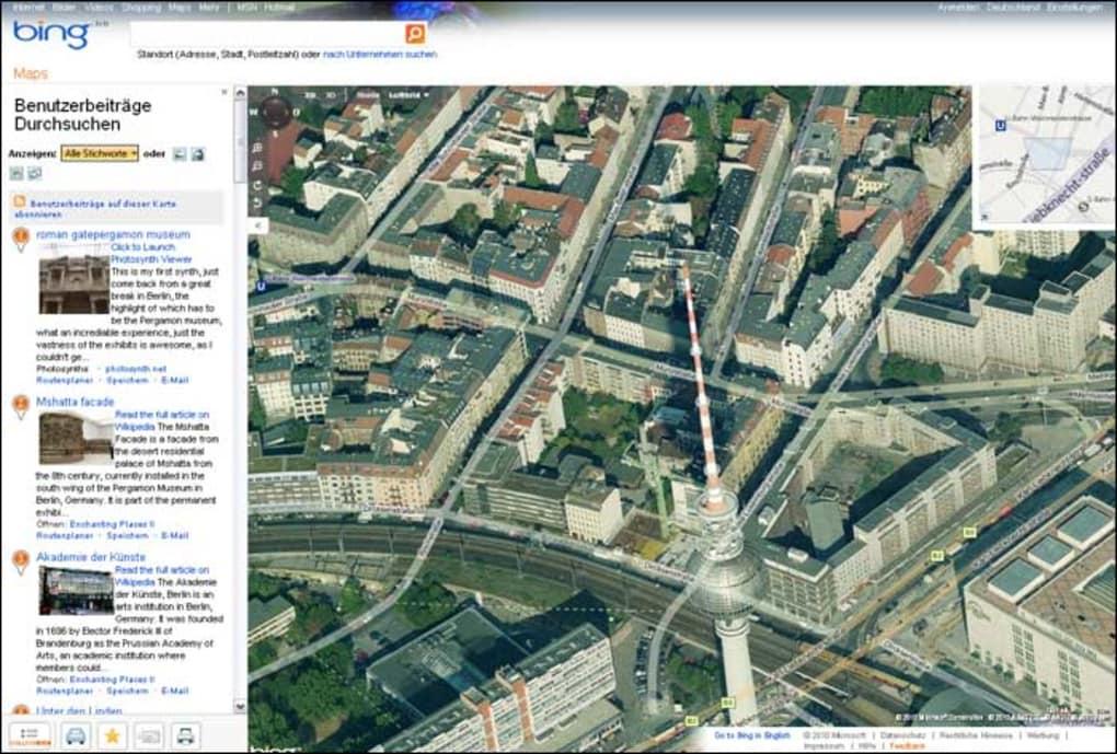 Bing Maps Online