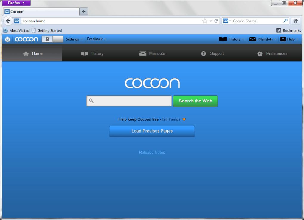 Cocoon web browser download