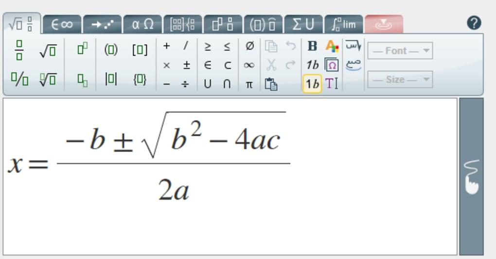 MathType - Tải về