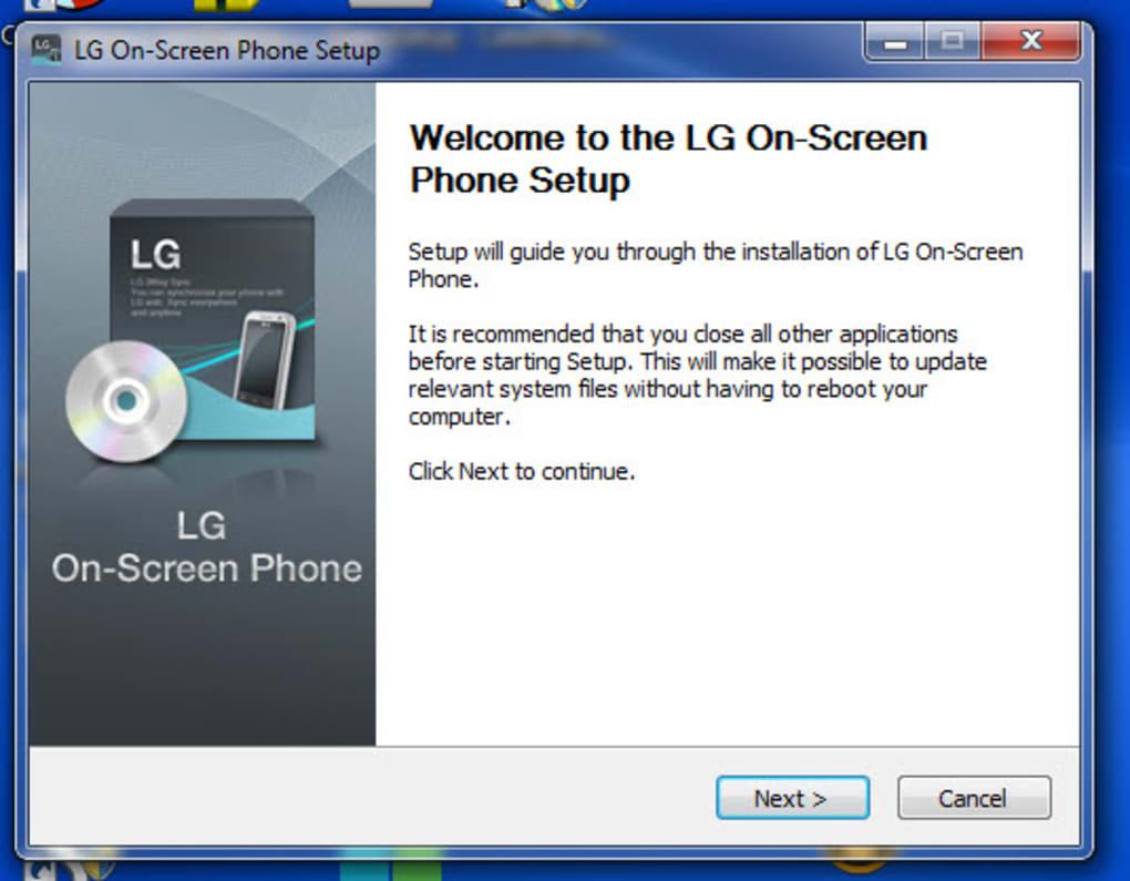 LG On-Screen Phone - Descargar