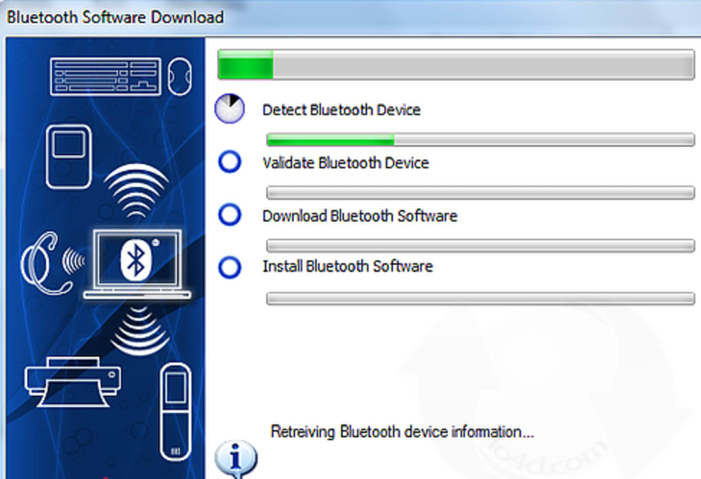 WIDCOMM Bluetooth for Windows 10 & 8 (Windows) - Download 1/1 Screenshots