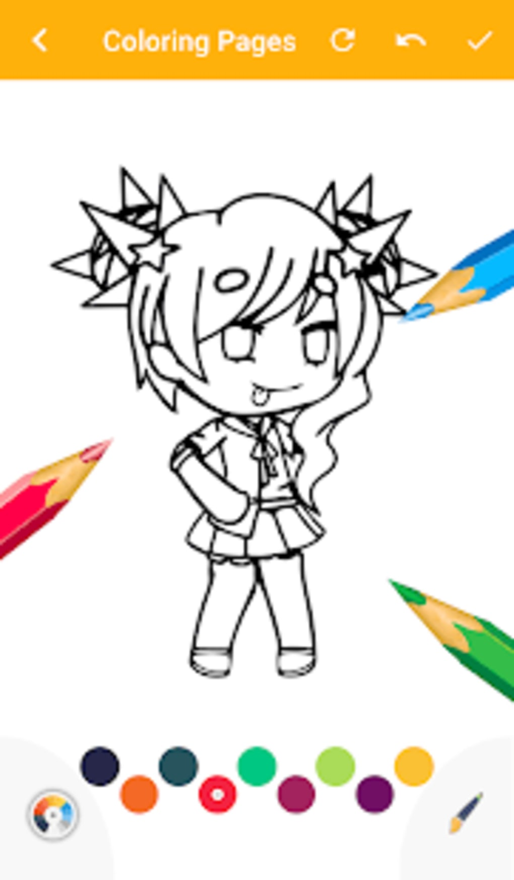 Gacha Coloring Book Game For Android Download