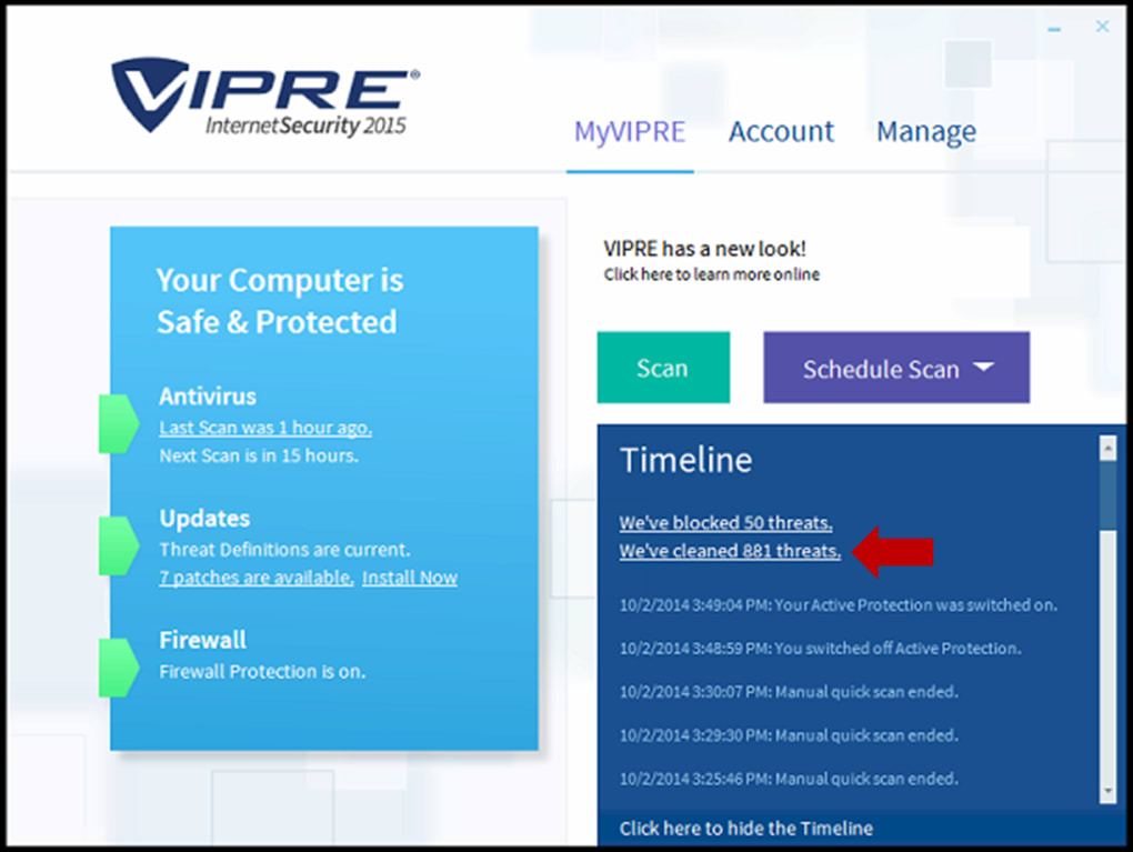 Vipre advanced security for home