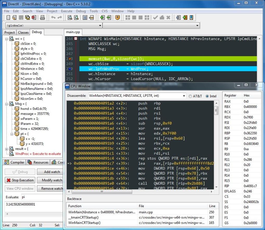 DEV C 4.9.9.0 TÉLÉCHARGER