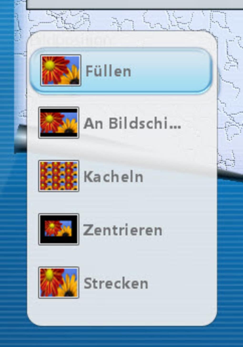 Windows 7 hintergrund strecken