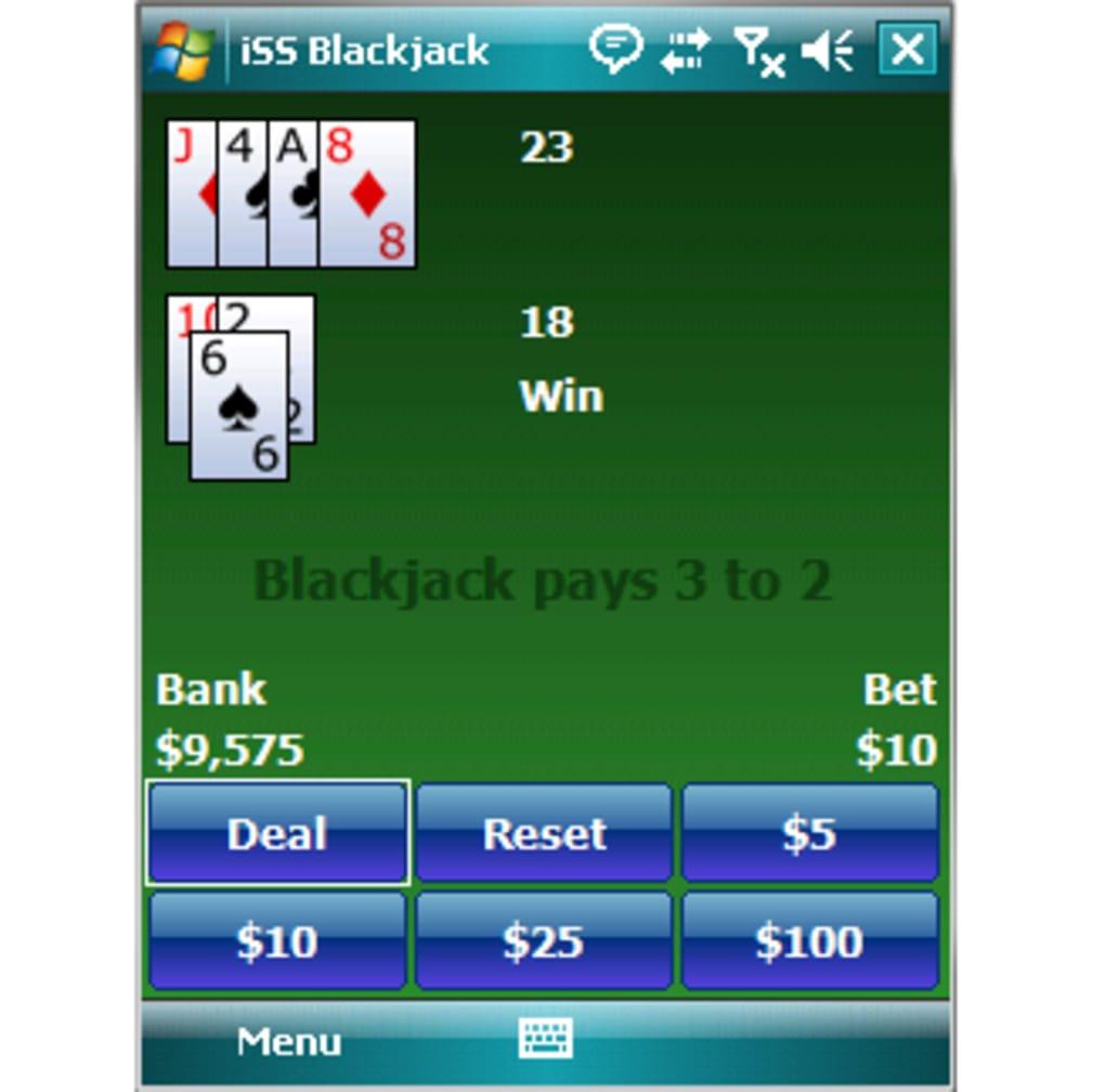 Strip black jack pocket pc, erin cumming naked