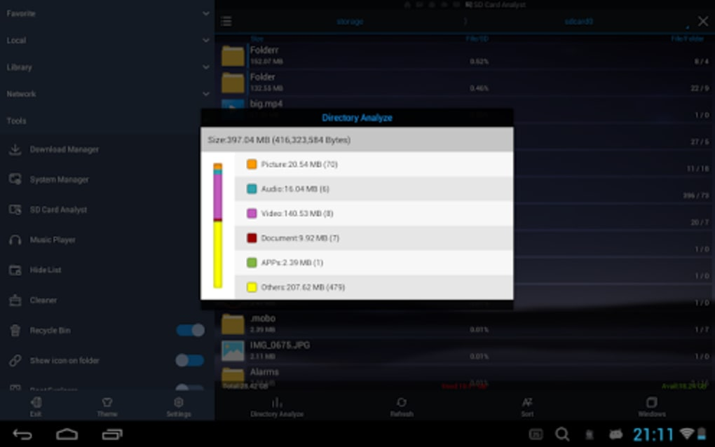 ES File Explorer/Manager PRO for Android - Download