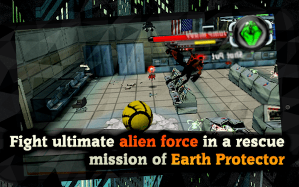 Alien Force War Earth Protector for Android - Download