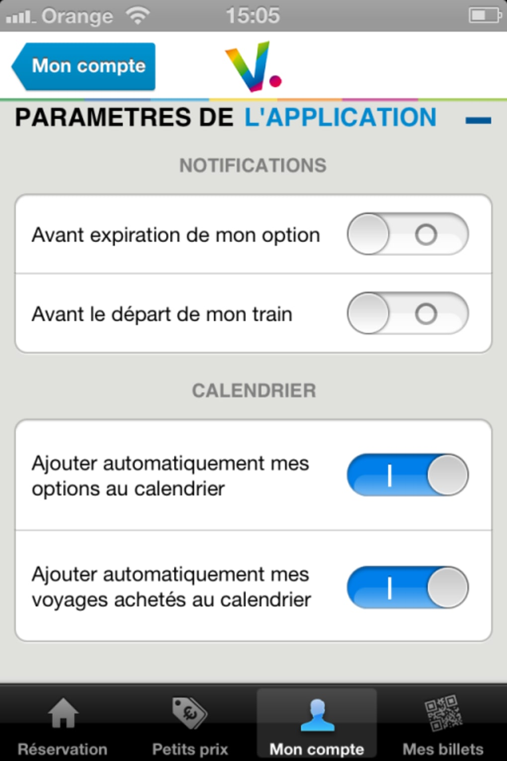 Voyages Sncf Calendrier.Voyages Sncf Pour Iphone Telecharger