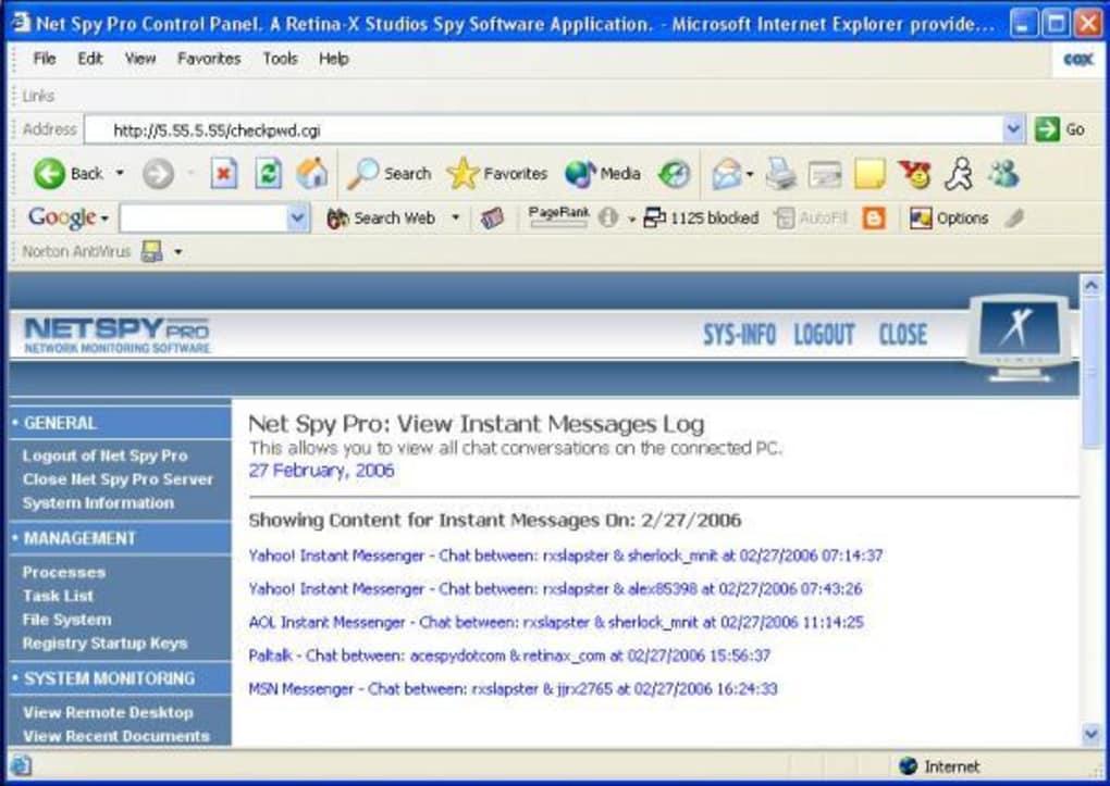 Net Spy - Download