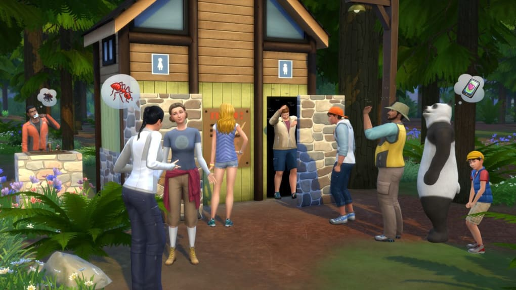 the sims 4 outdoor retreat free download
